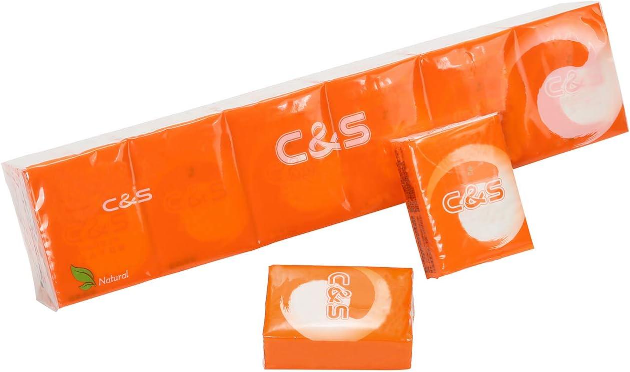 Pack of 36 Eslite 4-ply Facial Tissue Pocket Packs