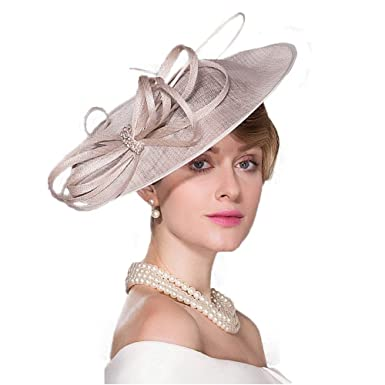 f6c0e958cb862 Fascinators Wedding Kentucky Derby Church Hats Pillbox Hat Large ...
