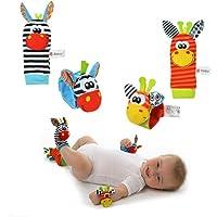 Sozzy Çıngıraklı Bebek Bileklik Ve Çorabı SZY101
