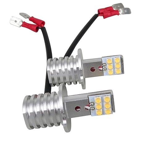 wljh H3 LED Niebla Luz Bombilla Super brillante 1000LM 60 W 12 V 24 V LED