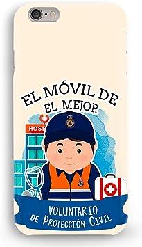 Funda Carcasa Proteccion Civil para iPhone X plástico rígido: Amazon.es: Electrónica