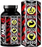 El Diablo Energy Gold Rapid Fat Burning and Weight Reduction Supplement, 60 Capsules