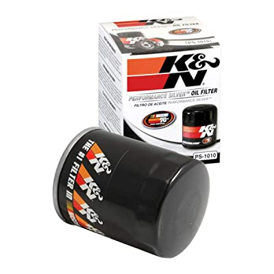 K&N Premium Oil Filter: Designed to Protect your Engine: Fits Select ACURA/HONDA/NISSAN/ MITSUBISHI Vehicle Models (See Product Description for Full List of Compatible Vehicles), PS-1010: Automotive