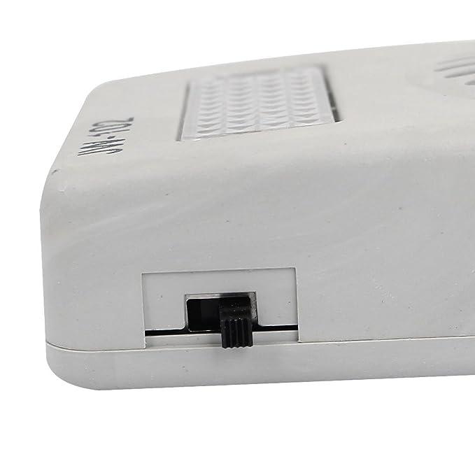 Amazon.com : eDealMax RJ11 6P2C Anillo zócalo de gato de sonido del amplificador de Timbre del teléfono w Cable : Office Products