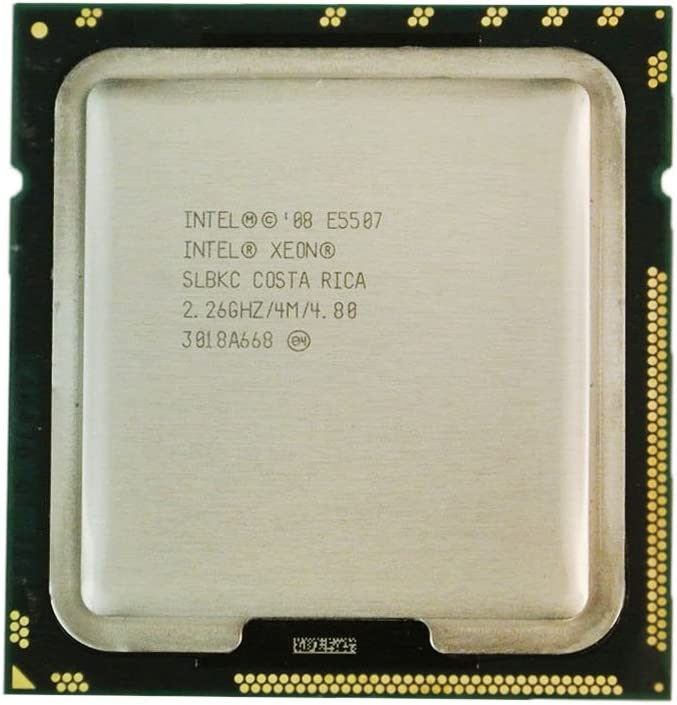 Renewed Intel Xeon E5507 2.26GHz 4MB 4-Core 80W 4.80 GT//s CPU SLBKC