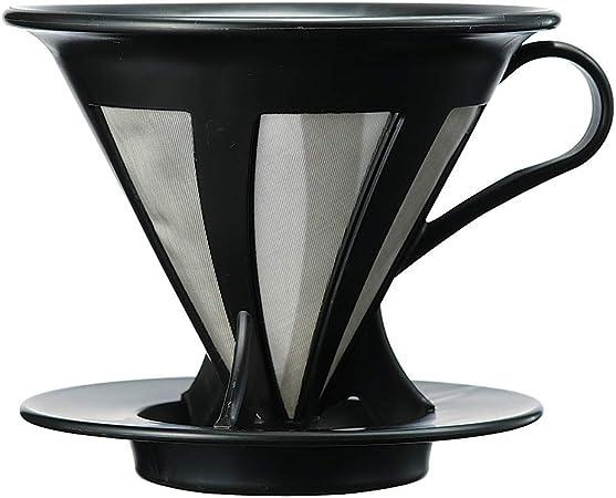Coador de Café HARIO Preto Até 4 Xícaras