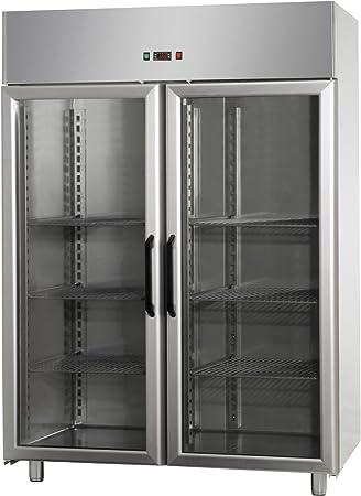 GAM Gastro - Frigorífico (puerta de cristal, 1200 L, 142 x 70 x ...
