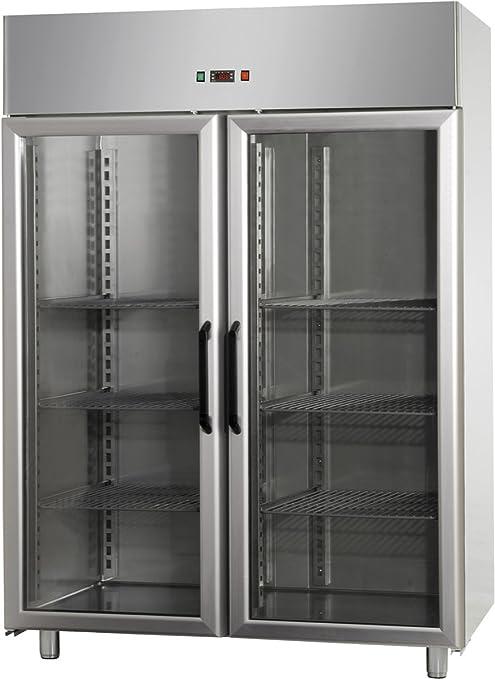 GAM Gastro - Puerta de cristal para frigorífico (1200 L, 142 x 70 ...