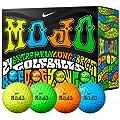 Nike Mojo Golf Balls Multicolored Double Dozen Golf Balls
