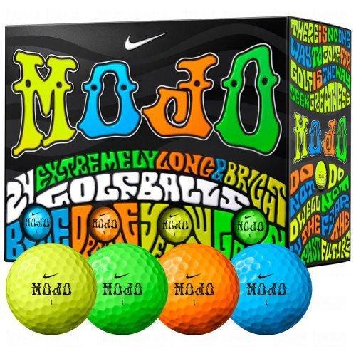 Multi Colored Golf Balls - Nike Mojo Golf Balls Multicolored Double Dozen Golf Balls