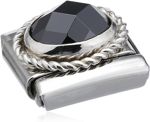 Godrone Wei/ß 030606//010 Nomination Composable Damen-Bead Classic Facettierte C Z Stahl Silber 925