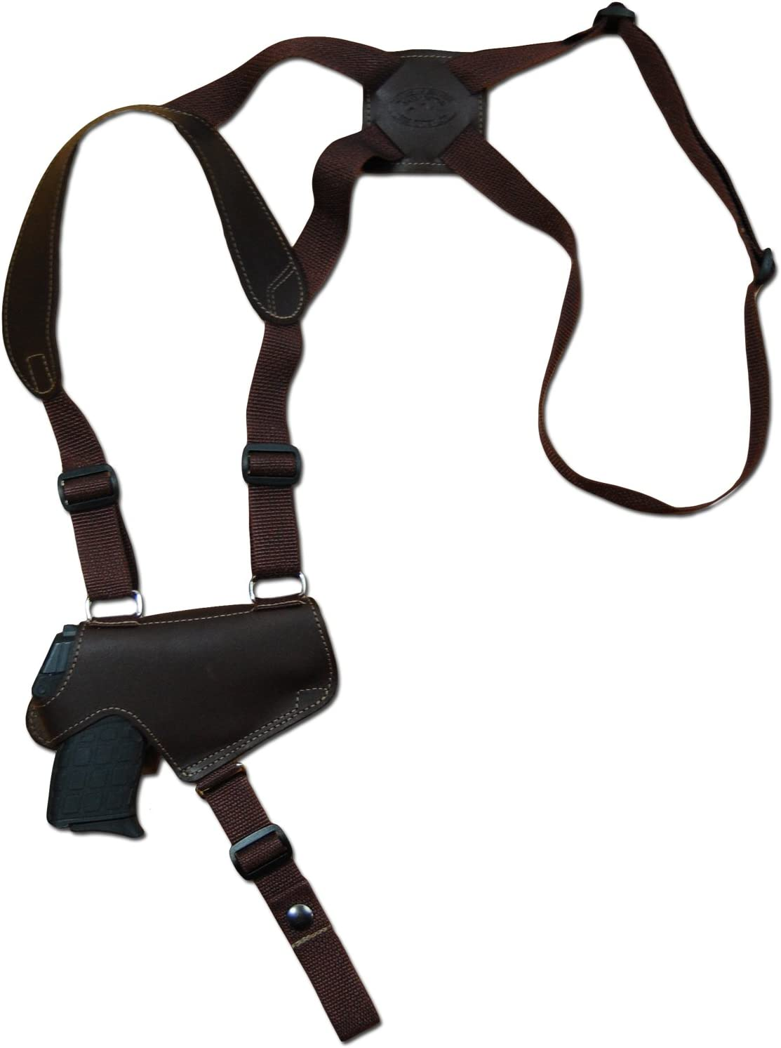 NEW Barsony Tan Leather Shoulder Holster for Kimber Ruger Small 380 Ultra-Comp