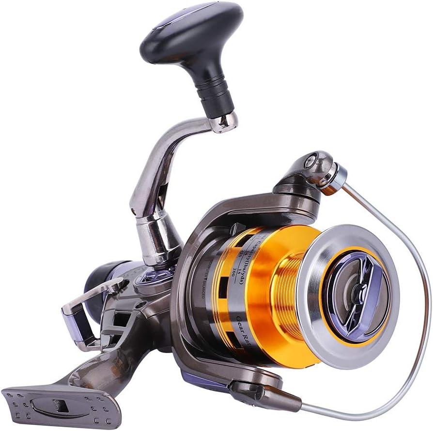 KS30-80 8+1 Ball Bearing Spinning Fishing Reel Full Metal Wire Cup Fish Wheel