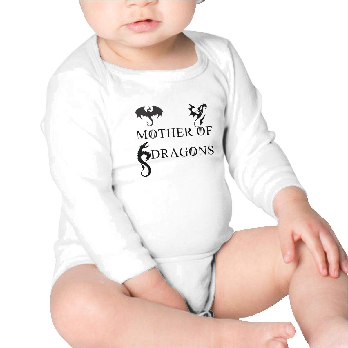 Pikaqiuleilei Mother of Dragons Flying Baby Cotton,Long Sleeve Infantile Suit