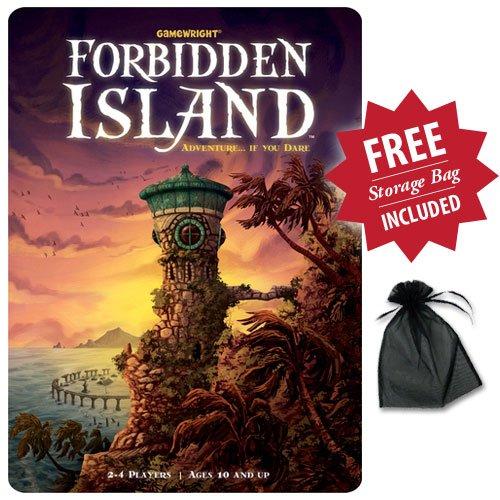 禁断の島 (Forbidden Island) With Free Storage Bag カードゲームの商品画像