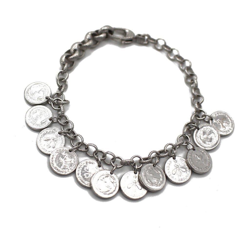 78d3664e6 Gucci Women 925 Sterling Silver Charm Bracelet Yba433480001018 Co Uk  Jewellery