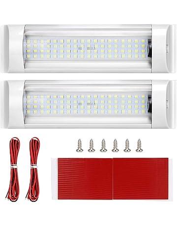 SUPAREE Luces de Techo LED RV de 12 V-80 V, 72 LED Iluminación