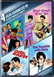 4 Film Favorites:Elvis Presley Girls: Girls! Girls! Girls!/ Easy Come Easy Go/ Trouble with Girls/ Girl Happy (DVD)