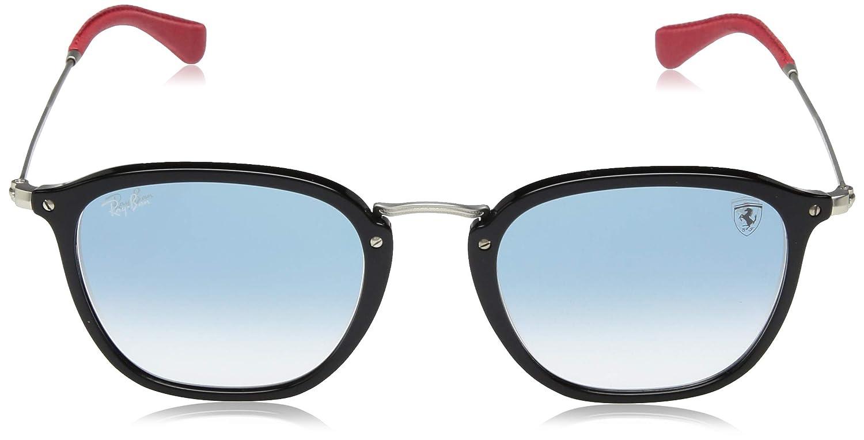 38a0bb372741c Amazon.com  Ray-Ban RB2448NM Scuderia Ferrari Collection Sunglasses  (Black Silver