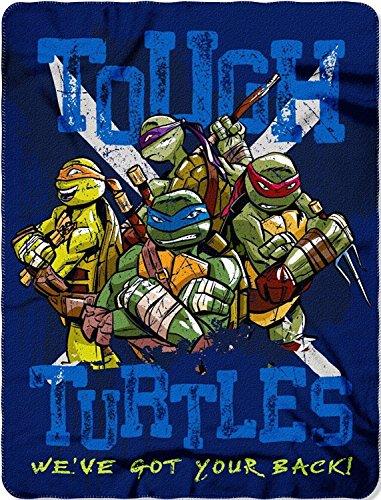 Northwest Officially Licensed Teenage Mutant Ninja Turtles Tough Turtle Blues 46