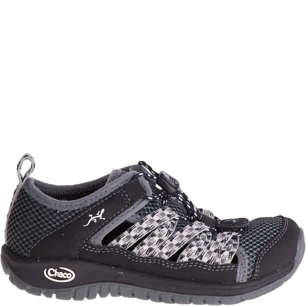Chaco Boys' Outcross 2 Water Shoe, Black, 12 Medium US Little Kid