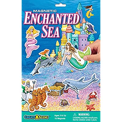 Create-A-Scene Magnetic Playset - Enchanted Sea: Toys & Games