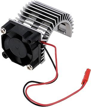 540 550 Disipador de Calor para Motor Eléctrico del RC Coche ...