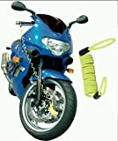 FD-MOTO Bicycle Scooter Motorcycle Motorbike Disc Lock Reminder Cable Security