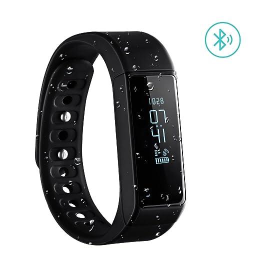363 opinioni per Braccialetto Sport OMorc Bracciale Fitness Smart Bluetooth 4.0 IP65