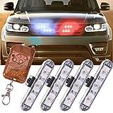 Molie 12V 3LED Mini LED Flash StrobeCar Police Emergency warning Light High Brightness Car Styling 3 Flashing Fog lights