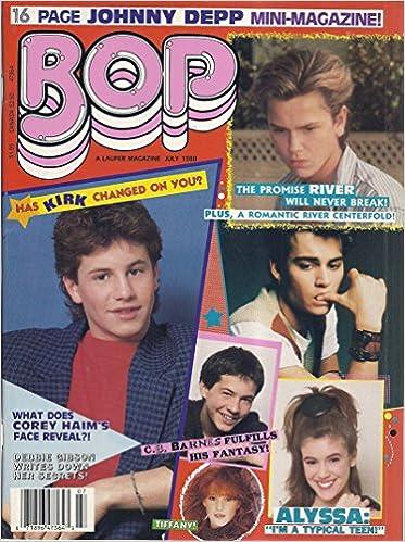 Bop Magazine (July 1988 - Kirk Cameron, River Phoenix, Corey
