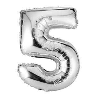 Socialism 30 Pollici Argento Numero stagnola Palloncini Digit Air Ballons Party Wedding Decor