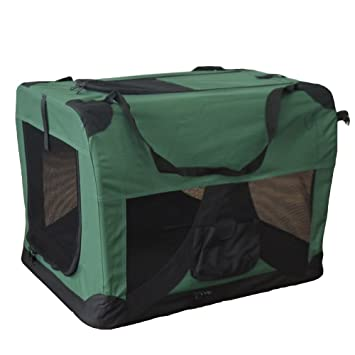 Transportín plegable para perros - Transportín de tela plegable - Caseta de perros portátil - Transporta