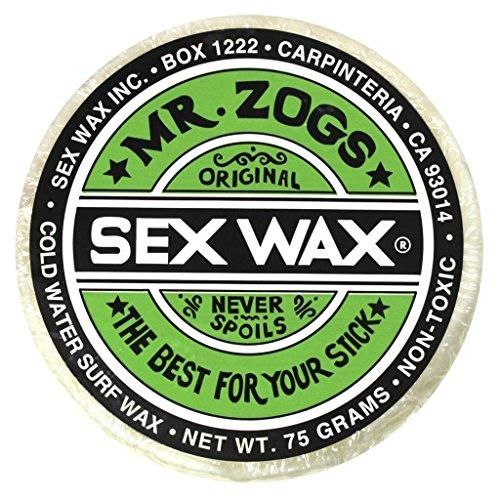 - Mr. Zogs Original Sexwax - Cold Water Temperature Coconut Scented (White)