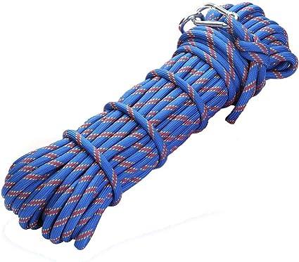 Cuerda de escalada azul exterior diámetro -10 mm, longitud ...
