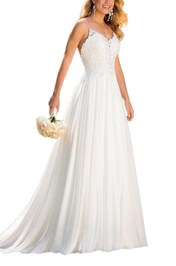 5 delicados y sencillos vestidos de boda para la primavera | La Opinión