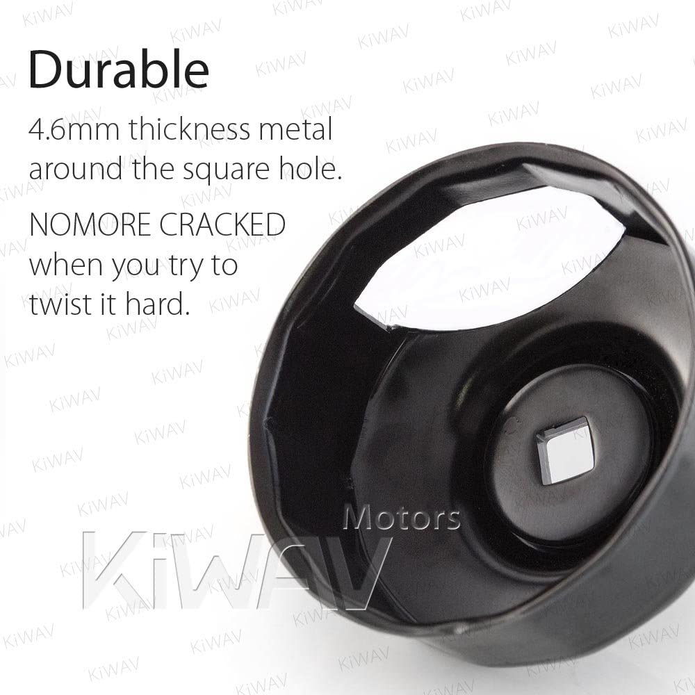 """3/"""" Cut Out Oil Filter Wrench Harley Ultra Limited Anniversary FLHTK 2013"""