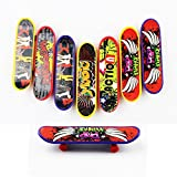 Goodlucky365 Professional Mini Fingerboards/ Finger Skateboard -8 Pack (Random Pattern)