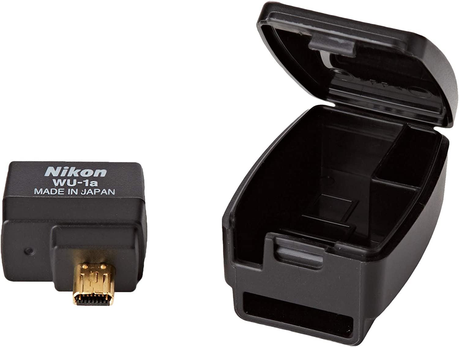 Nikon WU-1A WLAN Adapter - Adaptador de Red USB (WLAN 802.11b Port ...