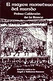El Mayor Monstruo del Mundo, Pedro Calderón de la Barca, 0936388749