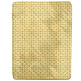 Bamboo Yellow Fitted Sheet: King Luxury Microfiber, Soft, Breathable