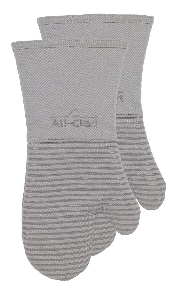 All-Clad Textiles PAC2SOM01 Oven Mitt, 2 Pack, Titanium by All-Clad Textiles