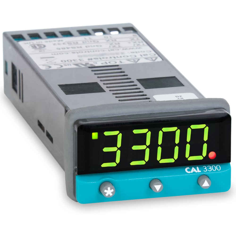 Cal Controls 330000000 CAL 3300 Series 1/32 DIN Temperature Controller, 100 to 240 VAC, SSR Driver and Relay Outputs by CAL CONTROLS