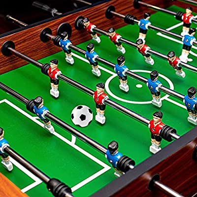 Table Soccer Foosballs Replacements Mini Black and White Soccer Balls (6 Pack): Toys & Games