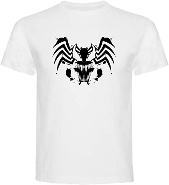 Camiseta de Hombre Spiderman Venom Comic 4XL: Amazon.es: Ropa y ...