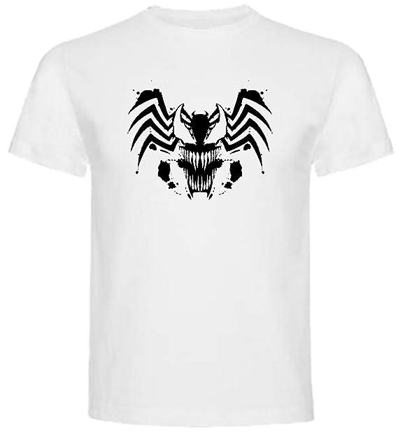 Camiseta de Hombre Spiderman Venom Comic 4XL: Amazon.es: Ropa y accesorios