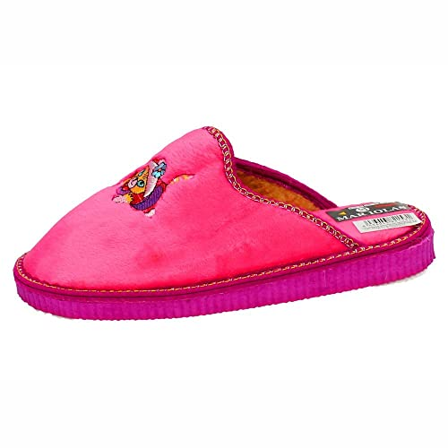 MADE IN SPAIN 502-784 Chinelas DE Gato Mujer Zapatillas CASA Fuxia 35: Amazon.es: Zapatos y complementos