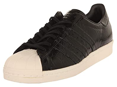 b128edd7236 adidas Superstar 80 S Trainers Black  Amazon.co.uk  Shoes   Bags