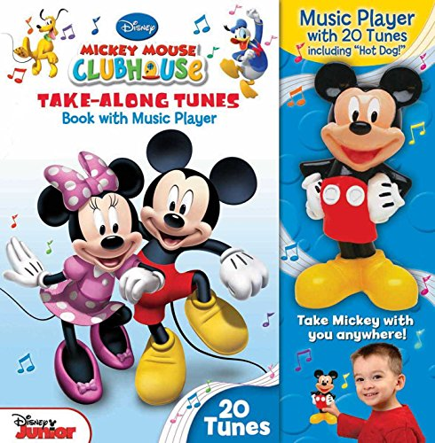(Disney Mickey Mouse Clubhouse Take-Along Tunes: Book with Music)