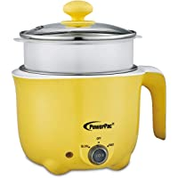 PowerPac PPJ2012 1L Electric Cooker with Steamer